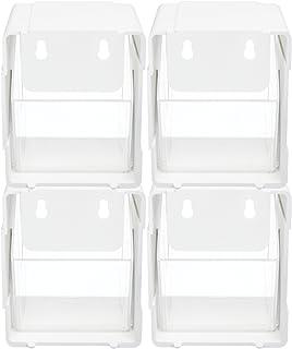 Deflecto 119 x 137 x 132 mm Interlocking Tilt Bin (Pack of 4)