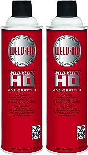 Weld-Aid Weld-Kleen Heavy Duty Anti-Spatter Liquid, 20 oz (Twо Pаck)