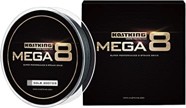 KastKing Mega8 Braided Fishing Line, Advanced 8 Strand Braided Line – Rounder,..