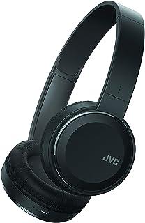 JVC HAS190BTB Bluetooth On Ear Headphones Mic Remote Black