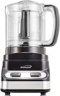 Brentwood Mini Food Processor, 3-Cup, Black