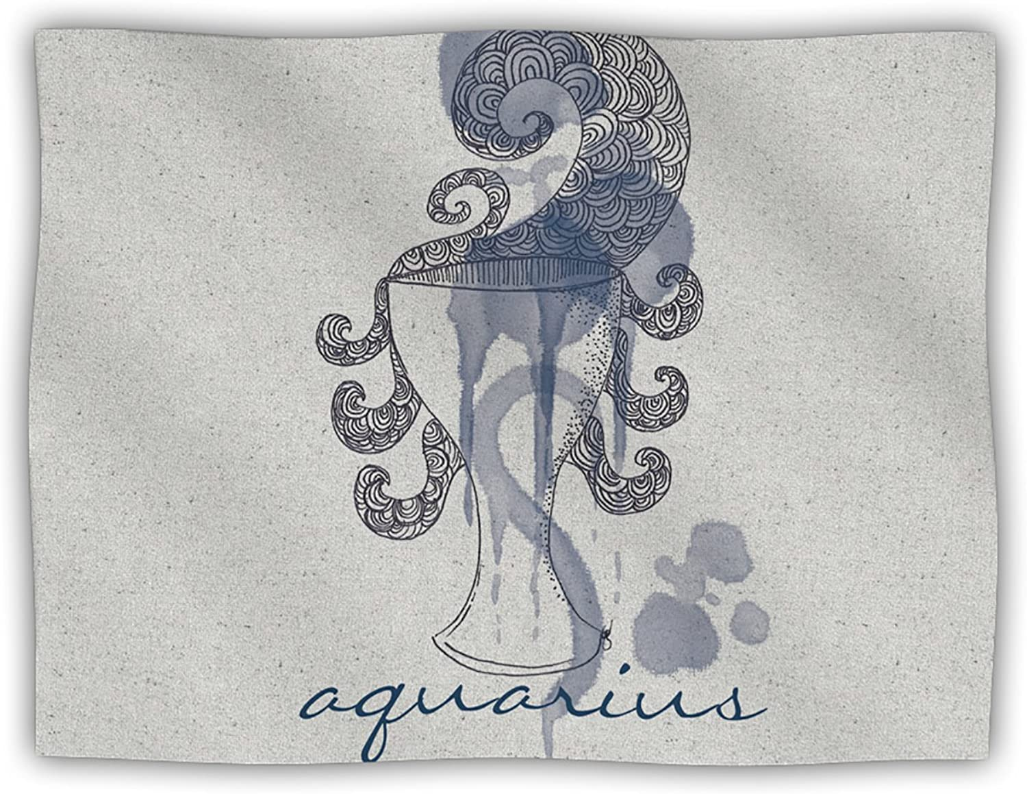 Kess InHouse Belinda Gillies  Aquarius  Pet Blanket, 40 by 30Inch
