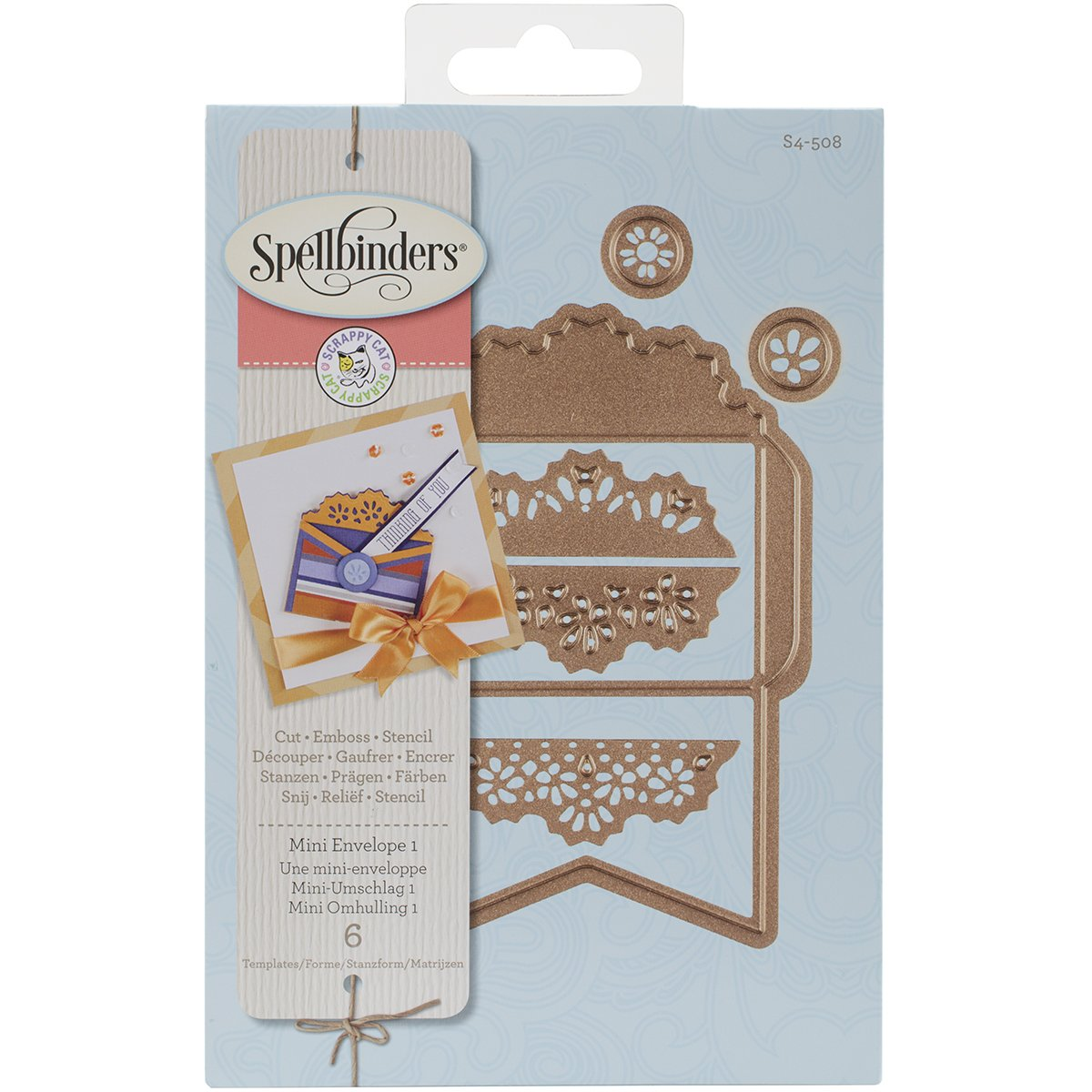 Spellbinders S4-508 Envelope One for Scrapbooking, Mini