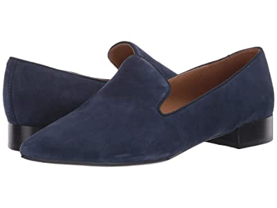 Nine West Jessa Smoking Flat (French Navy) Women