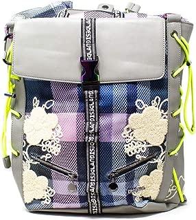 Luxury Fashion   Desigual Womens 19WAKA36GREY Grey Backpack   Fall Winter 19