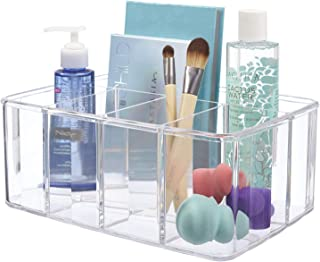 STORi Clear Plastic Organizer | 5-Compartments