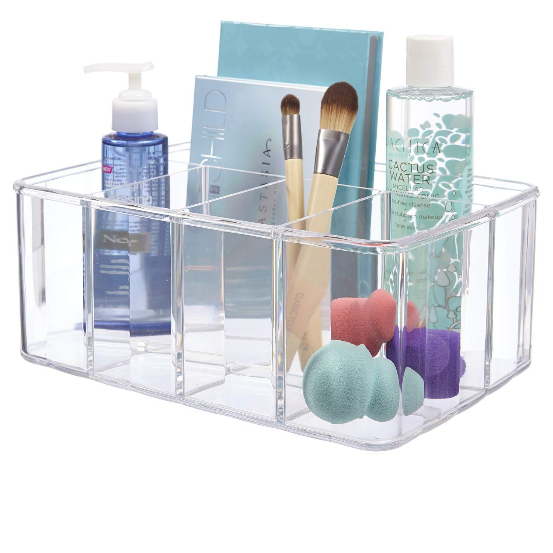 STORi Clear Plastic Organizer 5 Compartments