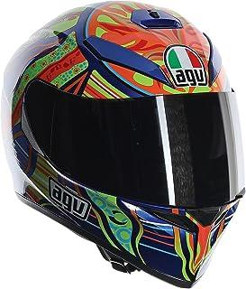 AGV Unisex-Adult Full-face-Helmet-Style K-3 SV 5-Continent (Multi, Medium-Large)