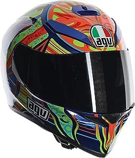 AGV Unisex-Adult Full-face-Helmet-Style K-3 SV 5-Continent (Multi, Large)