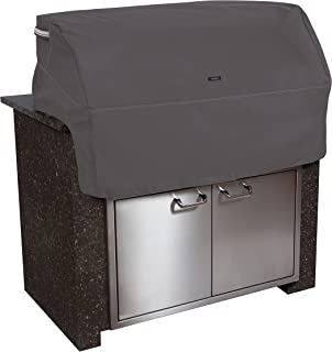 Classic Accessories Ravenna Cover for Built-in Grills, Medium, Taupe