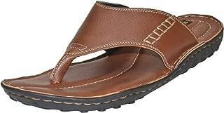 BLACK SANDS Men's Big Size Leather Slipper