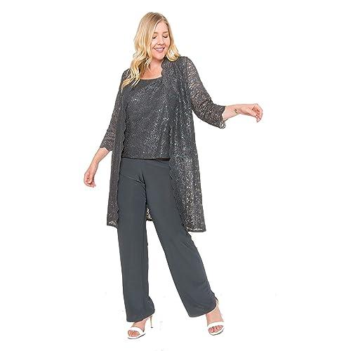 15e4f82b9e0 R M Richards Mother of The Bride Plus Size Pant Suit