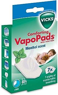 2 x Vicks Comforting Kalmerende Menthol VapoPads 2 verpakkingen van 7 = 14 Pads