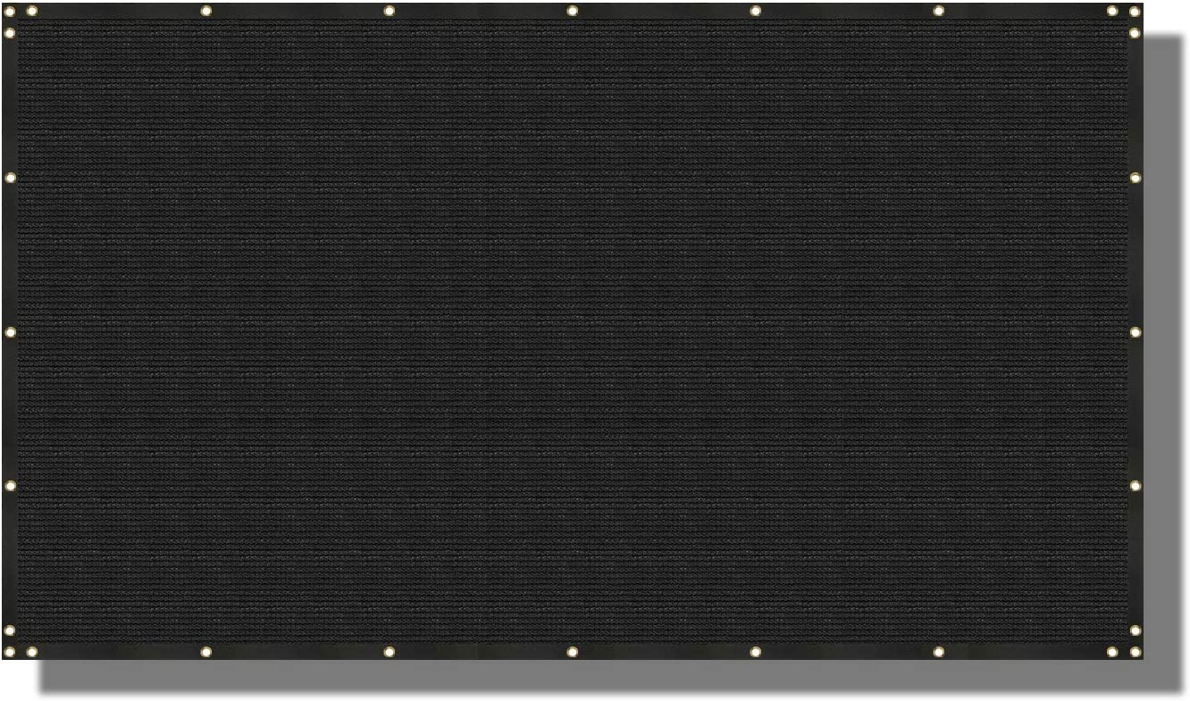 Coarbor 3' x 44' Privacy Fence Brass Mesh Screen trust 1 with Grommets Raleigh Mall