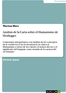 carta sobre el humanismo heidegger