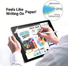 (2pack) Paper-Like iPad Air 3 for Apple iPad Air 3 2019/iPad Pro 10.5 inch,PET Film Feels Like Writing on Paper, Anti-Glare&Scratch- Resistant,Compatible with Apple Pencil&Face ID[Not Glass]