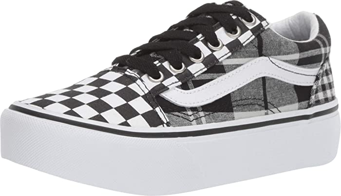 Checkerboard Old Skool Plateauschuhe from Vans on 21 Buttons