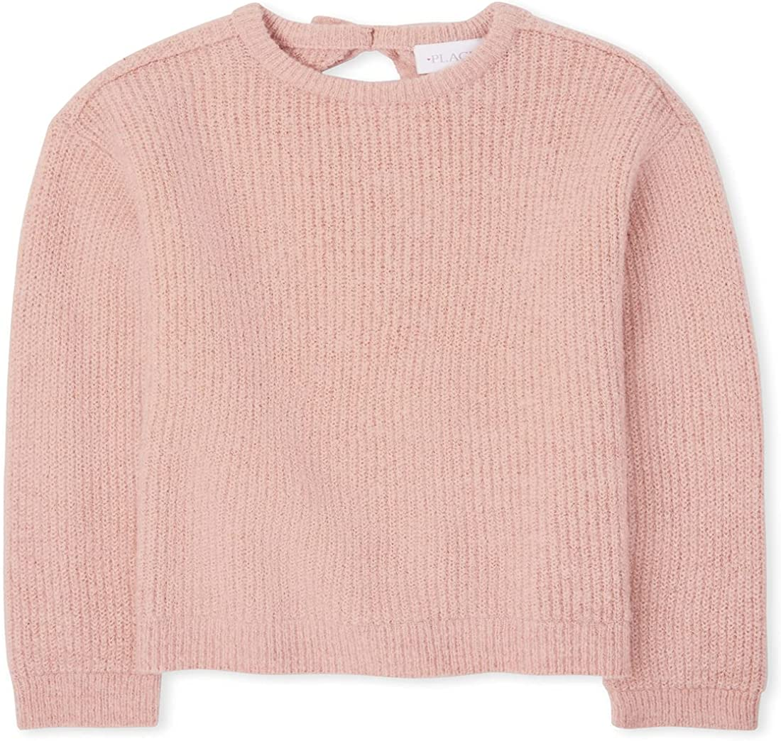 The Children's Regular store Place Girls Back Tie Max 56% OFF Sweater