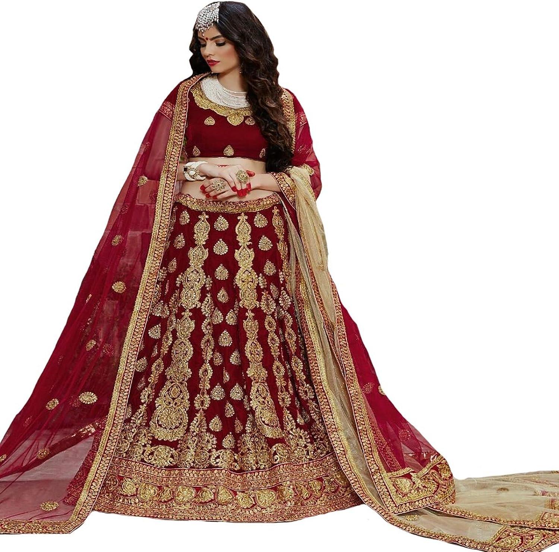 Indian Party wear Lehenga Choli Dupatta Ceremony Collection Bridal