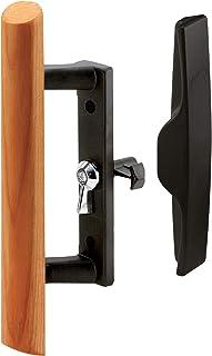 Slide-Co 141866 Sliding Door Handle Set, Diecast, Black/Wood
