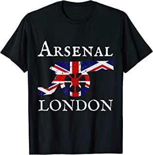 Arsenal London Soccer Jersey Cannon Union Jack T-Shirt