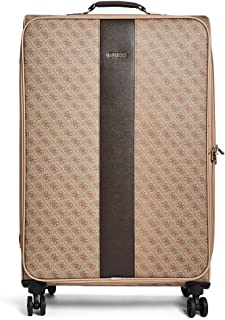 """GUESS Nissana 24"""" Spinner 8-Wheeler Brown with Gold Hardware, Brown with Gold Hardware (Brown) - F6786984"""