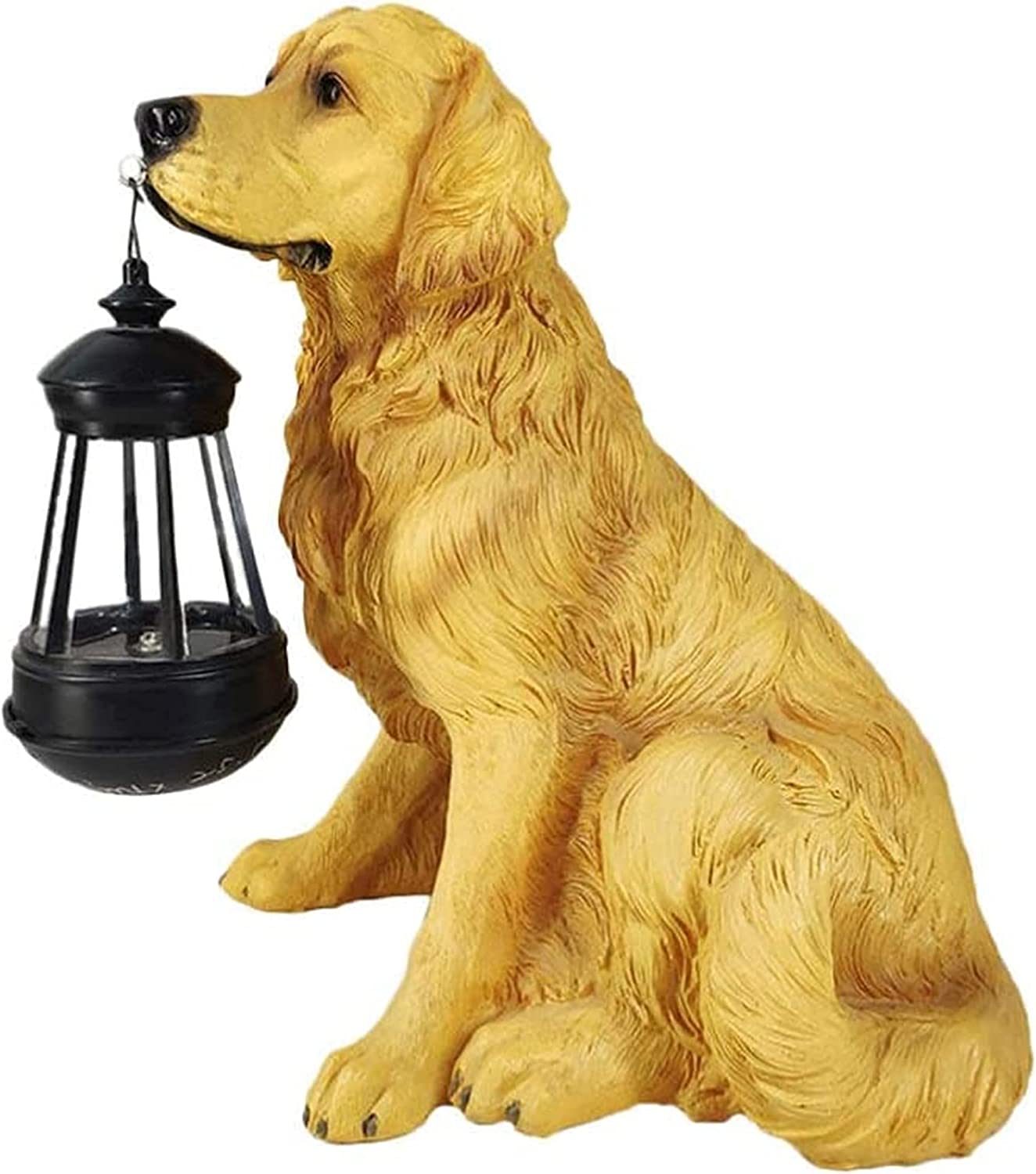 AMYZ Dog Memorial Statue Max 67% OFF Free shipping anywhere in the nation Garden Solar Ou Lights Ornaments