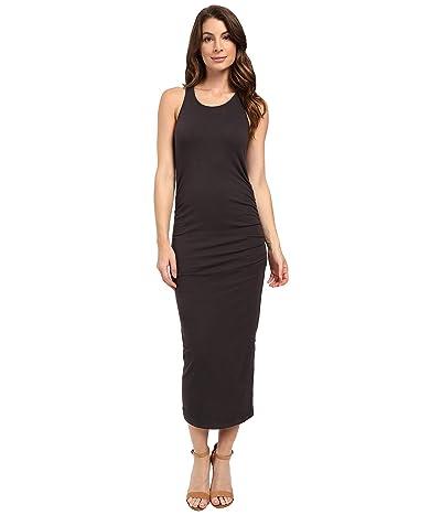 Michael Stars Racerback Dress w/ Shirring (Oxide) Women