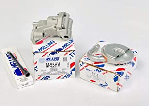 Melling M-55HV SBC Chevy Oil Pump HIGH Volume Oil Pump, Screen & Steel Rod 305 307 327 350 383 400 (HV Pump) …