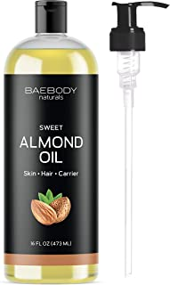 Sponsored Ad - Baebody Naturals Sweet Almond Oil, 16 Ounces