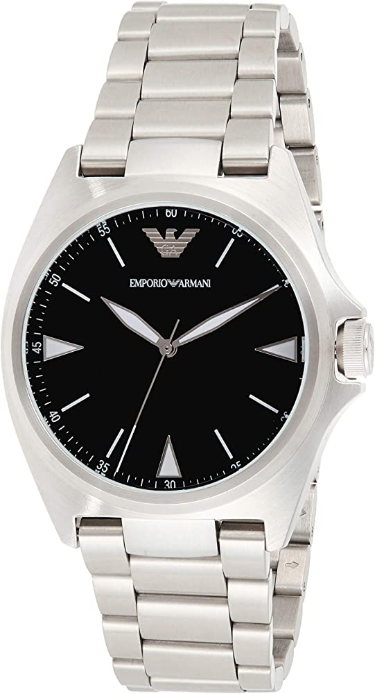Emporio armani, orologio per uomo ,in acciaio inossidabile AR11255
