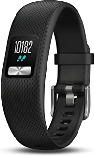Garmin vívofit 4 activity tracker with 1+ year battery life and color display. Small/Medium, Black. 010-01847-00