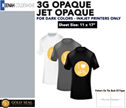 3G JET-OPAQUE 3G HEAT TRANSFER PAPER 11 x 17