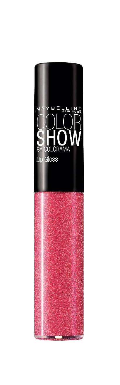 柔らかい夜明けに電子Gloss Color Show Gemey Maybelline - 273 Tint Me Pink