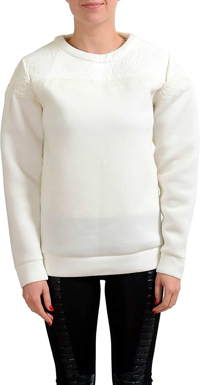 Maison Margiela 1 White Women's Sweatrshirt Sweater US S IT 40