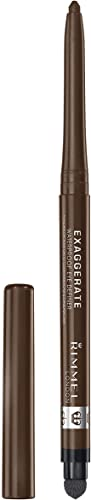 Rimmel London Exaggerate Waterproof Eye Definer, Rich Brown, 5g