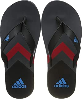 Adidas EEZAY FLIP FLOP, Men's Slippers, Black (Core Black/Shock Cyan/Grey Six), 9 UK (43 1/3 EU) (F35024)