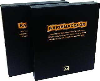 サンフォード 色鉛筆 カリスマカラー 72色セット