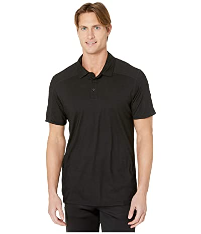 Smartwool Merino Sport 150 Polo (Black) Men