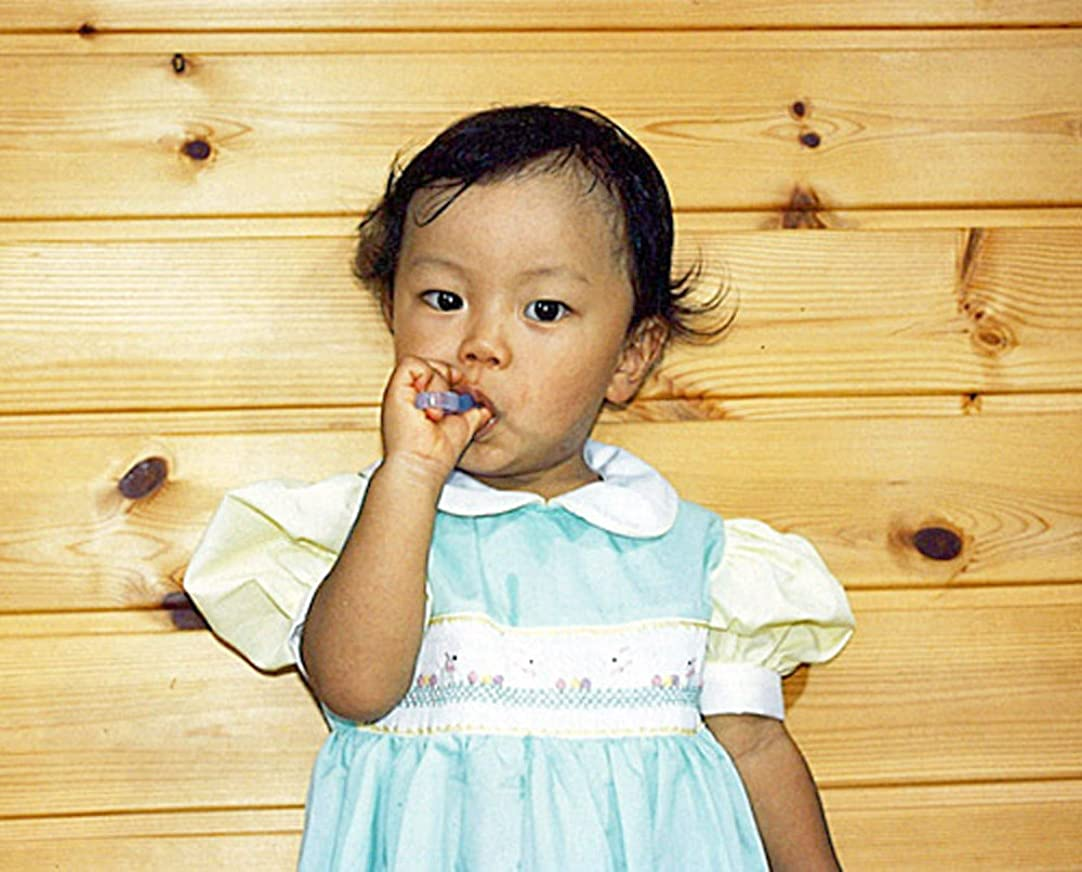 下線素人吸収オーラルケア 歯ブラシ カミカミソフト歯ブラシ ブルー/ピンク 2個組み