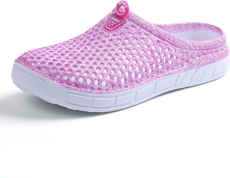 BADIER Women Mesh Summer Breathable Slippers Beach Garden Clog Sandals Shower Footwear Water shoes Walking Anti-Slip shoes
