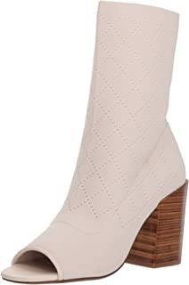 KELSI DAGGER BROOKLYN Womens Macey Ankle Boot Vanilla 8.5 M US