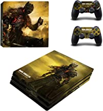 Dark Souls 3 Whole Body Vinyl Skin Sticker Decal Cover for PS4 Playstation 4 Pro System Console and Controllers