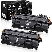 Best IKONG Compatible Toner Cartridge Replacement for HP 05A CE505A use with Laserjet P2035 P2035n P2055d P2055dn P2055x Printer (2-Black) Review