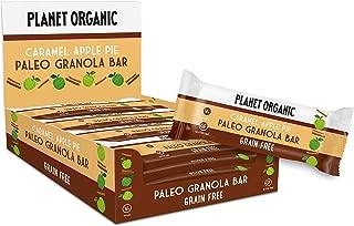Planet Organic Paleo Granola Bar Caramel Apple Pie - 30 gm, 15 Pieces (Pack of 1)