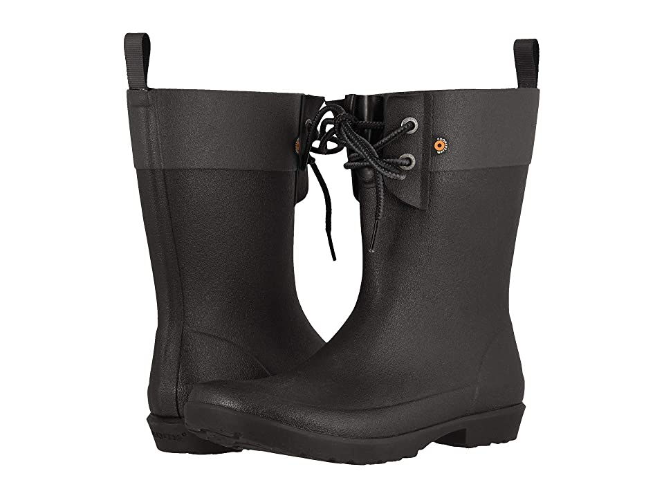 Bogs Flora 2-Eye Boot (Black) Women