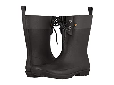 Bogs Flora 2-Eye Boot (Black) Women
