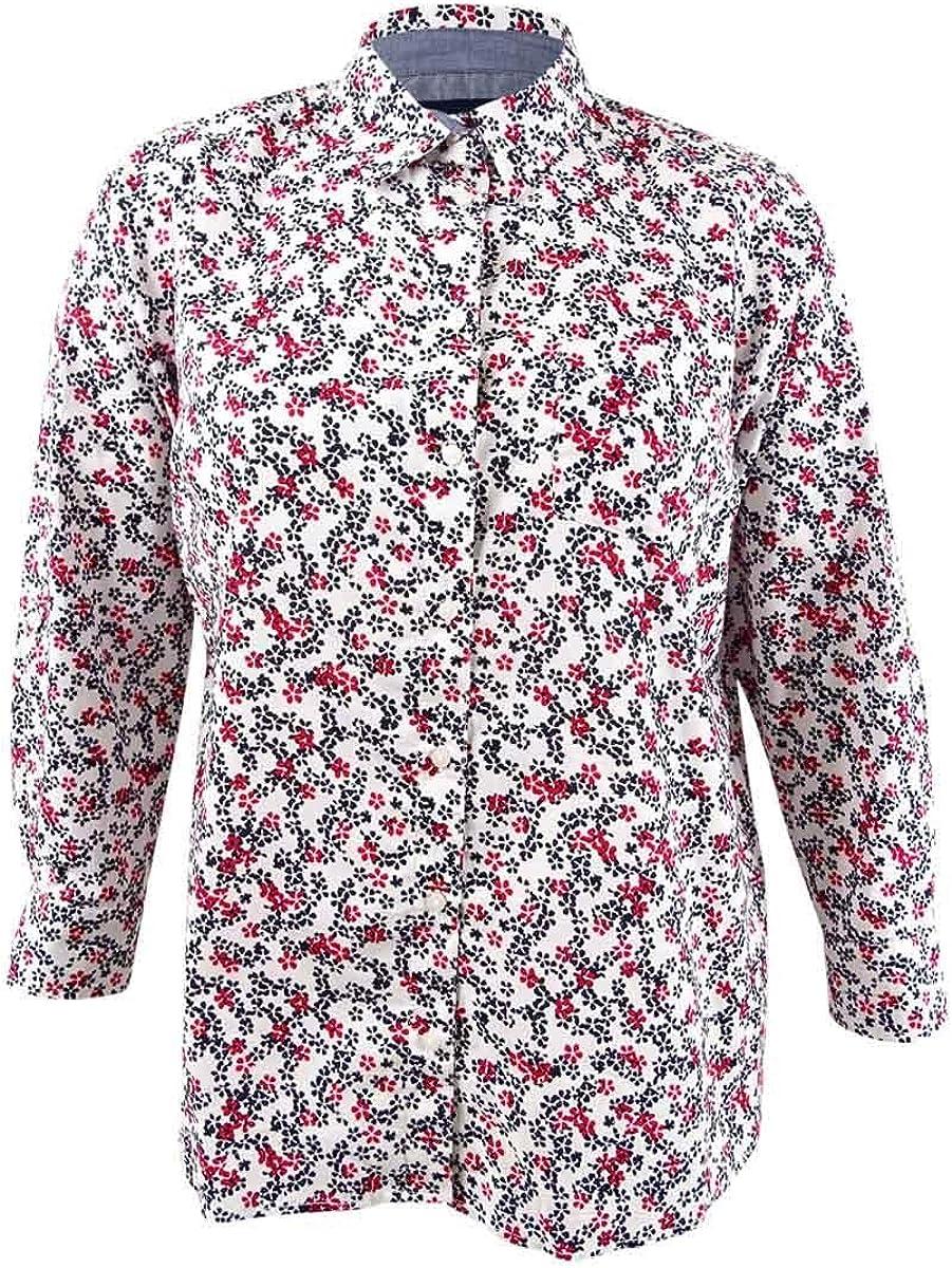 Tommy Hilfiger womens Button Down Shirt