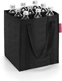 reisenthel bottlebag ZJ7003 black – Flaschentasche zum Transportieren von neun Flaschen – Kompakt, komfortabel und stoßges...