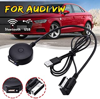 Car Black Ami Mdi Bluetooth Music Streaming Kit Media Interface Cable Ami Lead Charge Play Music For Audi/Vw